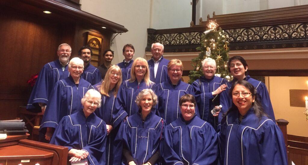 The choir, December 2019